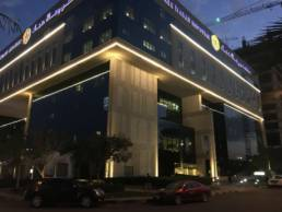 Exterior lighting Royale Hayat Hospital
